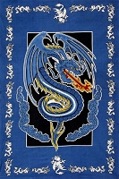 TA09 - Soaring Dragon Tapestry