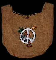 TB9 - Peace Bears Peddler Bag