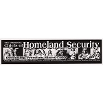 S020 - The Original Chiefs of Homeland Security Bumper Sticker