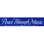 S119 - Peace Through Music Bumper Sticker