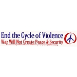 S136 - End the cycle of Violence Large Bumper Sticker