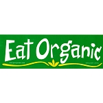 S149 - Eat Organic Bumper Sticker