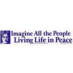 S152 - Imagine All People Bumper Sticker