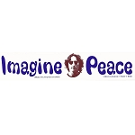 S156 - Imagine Peace Bumper Sticker