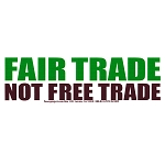 S157 - Fair Trade Bumper Sticker