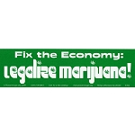 S192 - Legalize Marijuana Bumper Sticker