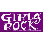S238 - Girls Rock Bumper Sticker