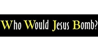 S286 - Who Would Jesus Bomb Sticker