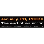 S322 - End of an Error Bumper Sticker