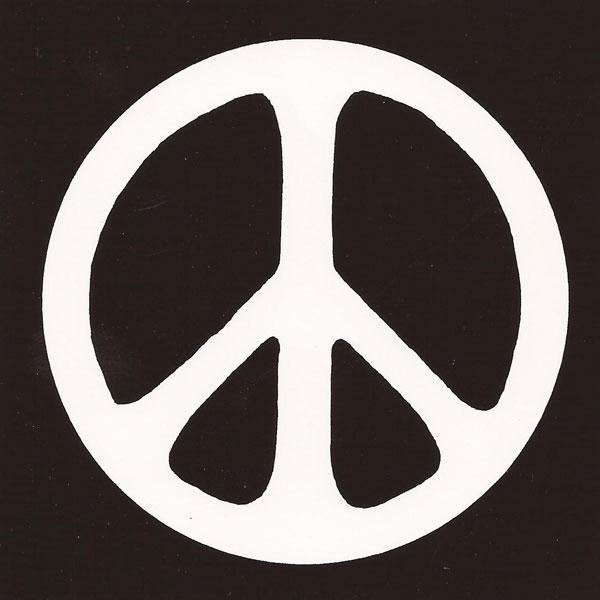 Peace Symbol Large Bumper Sticker