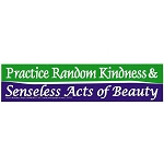 S375 - Practice Random acts of Kindness & Senseless acts of Beauty Bumper Sticker