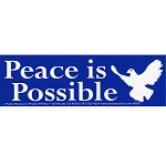 S382 - Peace is Possible Bumper Sticker
