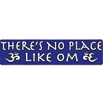 S408 - There's No Place Like Om Bumper Sticker