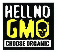 S546 - Hell No GMO Bumper Sticker