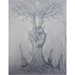 T132 - Peace Hand Tree with Guitars T-shirt