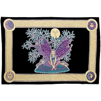 TA21 - Fairy Tree Tapestry