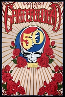 TA37 - Grateful Dead 50th Anniv. SYF Steal Your Face Tapestry
