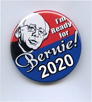 B486 - Bernie Sanders for President 2020 Button Pin