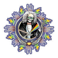 CS700  Jerry Jaspar's Laughing Jack Grateful Dead 2019 Tour Inspired Unique Art Decal Sticker