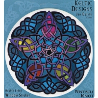 A250 - Pentacle Knot Art Decal