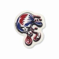 A422 Melting Liquid Steal Your Face Grateful Dead Mini Art Decal Window Sticker