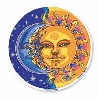 A436-MAG Reflections Sun Moon Day Night Bryon Allen Art Decal Sticker