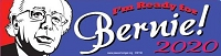CS155 - Bernie Sanders For President  2020 Color Sticker