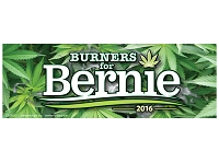 CS155-G - Burners for Bernie Color Sticker