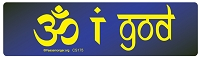 CS175 - OM I God Color Sticker