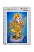CS205 - Ganesha Color Sticker Hindu Elephanth-Headed Hinduism God of  Wisdom, Success Luck STATIC CLING