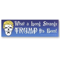 CS232 - What a long strange Trump its been Color Sticker