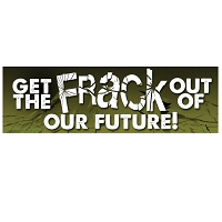 CS251 - Get the FRACK Out of Our Future Anti Fracking Color Sticker
