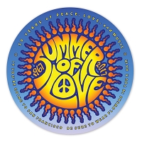 CS283 - Summer of Love Commemorative 50th Anniversary Sticker