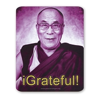 CS304B - 14th Dalai Lama - iGrateful! Color Sticker Color Sticker Buddhism Tibet Monk Positive Happy Quote