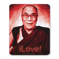 CS304C - 14th Dalai Lama - iLove! Color Sticker Color Sticker Buddhism Tibet Monk Positive Happy Quote