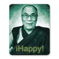 CS304D - 14th Dalai Lama - iHappy! Color Sticker Color Sticker Buddhism Tibet Monk Positive Happy Quote
