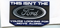 CS326-MAG Ford Star Wars Parody Jedi Mind Trick Color Sticker MAGNET