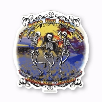 CS391 They Shake Their Bones Riviera Maya Mexico Sticker Decal