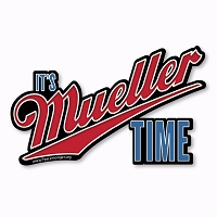 CS397 Its Mueller Time Resist Trump Persist Impeach Trump Cut Out Sticker Decal