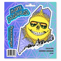 DS069 Maine Deadhead Grateful Dead States Sunshine Daydream Multi Sticker Decal