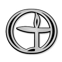 F27 - Flaming Chalice Unitarian Symbol 3D Chrome Auto or Truck Emblem