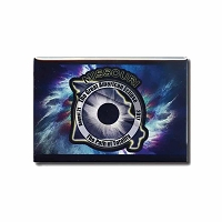 FMEC002 - Great American Eclipse 2017 Fridge Magnet - Georgia