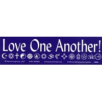 MS008 - Love One Another Mini Sticker