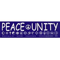 MS010 - Peace Unity Mini Sticker