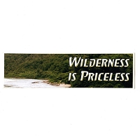 MS116 -Wilderness is Priceless Mini Sticker