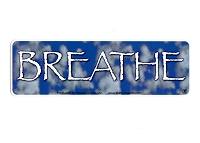 MS128 - BREATHE Mini Sticker