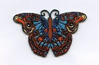 P118 - Butterfly Embroidered Patch