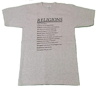 T021 - Religions Definitions Shirt