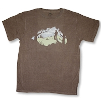 T093 - Mountain Hiker Organic Cotton Unisex T-shirt