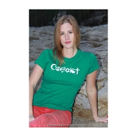 WT001x - Coexist Womens Fitted T-Shirt (CLOSEOUT COLORS)